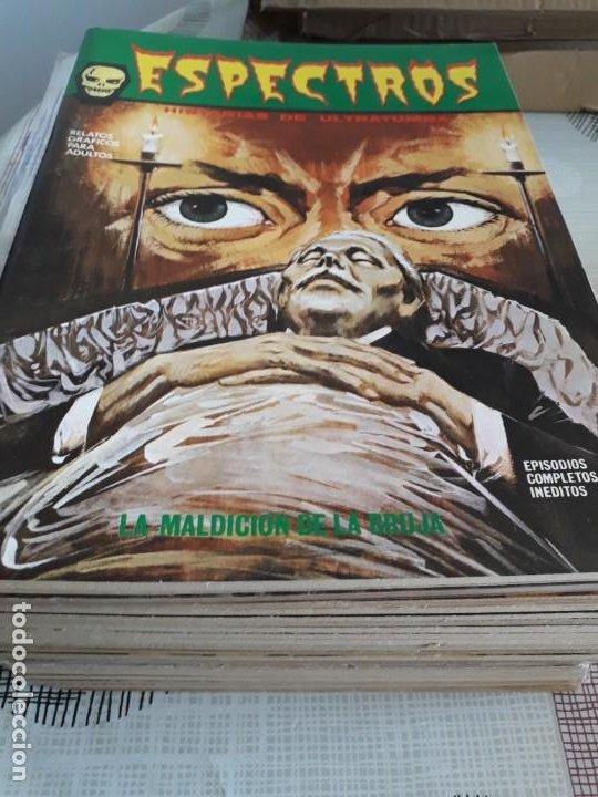 Cómics: ESPECTRO EDICIONES VERTICE AÑO 1972 37 COMICS BUEN ESTADO - Foto 2 - 199326521