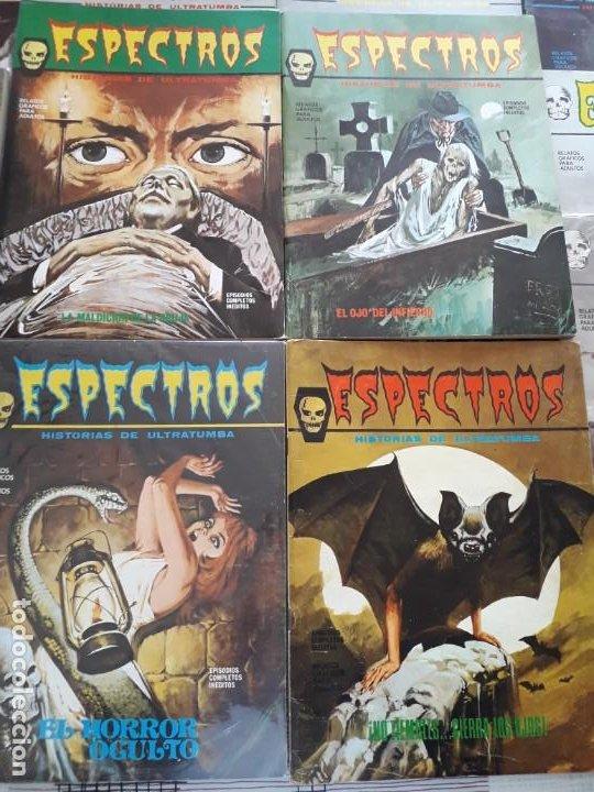 Cómics: ESPECTRO EDICIONES VERTICE AÑO 1972 37 COMICS BUEN ESTADO - Foto 3 - 199326521