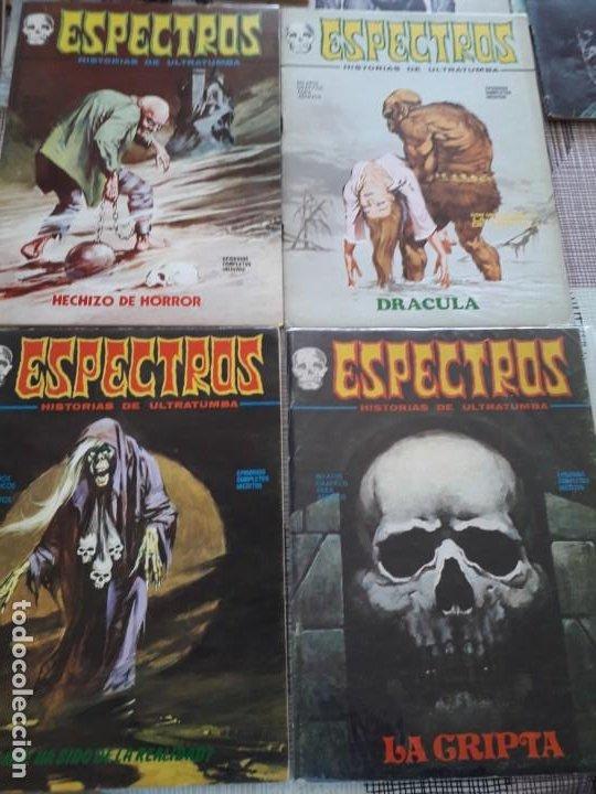Cómics: ESPECTRO EDICIONES VERTICE AÑO 1972 37 COMICS BUEN ESTADO - Foto 5 - 199326521