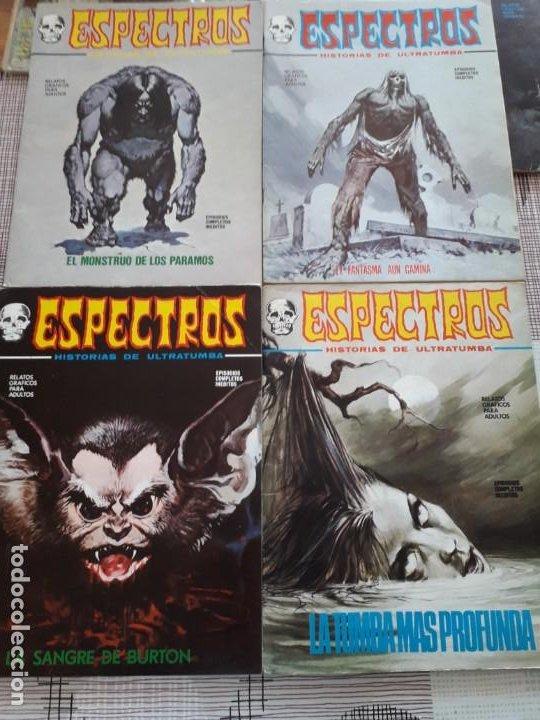 Cómics: ESPECTRO EDICIONES VERTICE AÑO 1972 37 COMICS BUEN ESTADO - Foto 6 - 199326521