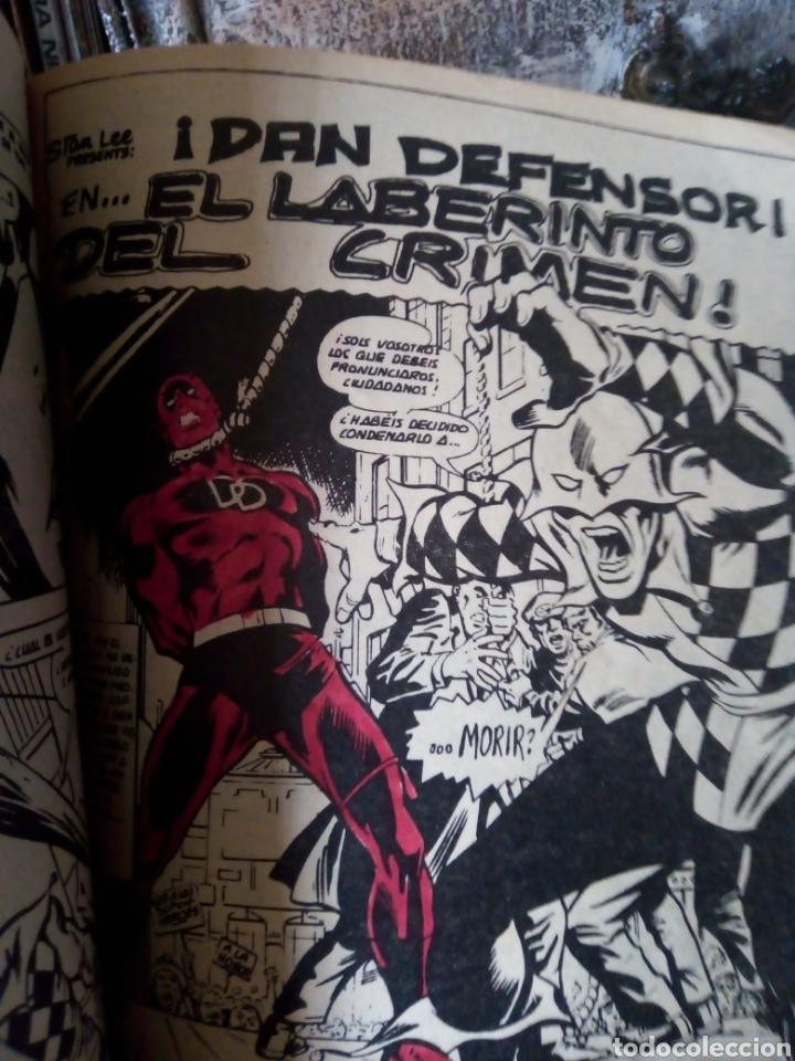 Cómics: El hombre de hierro y Dan defensor. Vol 2 núm 35. Héroes Marvel. Vértice - Foto 6 - 199357146