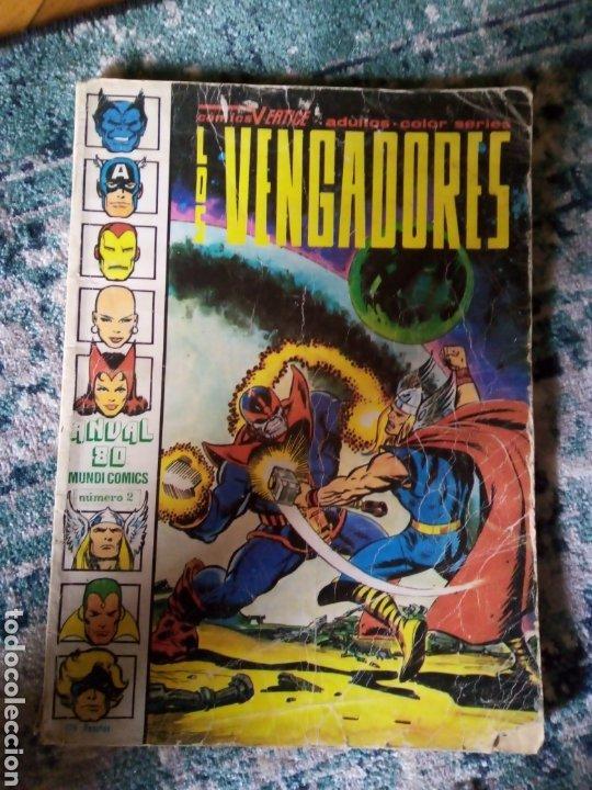 LOS VENGADORES, ANUAL 80. VÉRTICE (Tebeos y Comics - Vértice - Vengadores)