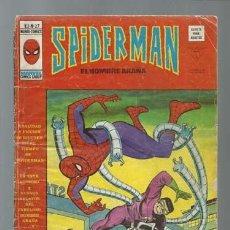 Cómics: SPIDERMAN VOLUMEN 3 NÚMERO 27, 1976, VERTICE, USADO. COLECCIÓN A.T.. Lote 199416241