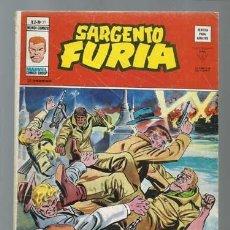 Comics : SARGENTO FURIA VOLUMEN 2 NÚMERO 31, 1977, VERTICE, BUEN ESTADO. COLECCIÓN A.T.. Lote 199514317