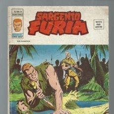 Comics : SARGENTO FURIA VOLUMEN 2 NÚMERO 28, 1976, VERTICE, BUEN ESTADO. COLECCIÓN A.T.. Lote 199514838