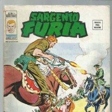 Comics : SARGENTO FURIA VOLUMEN 2 NÚMERO 26, 1976, VERTICE, BUEN ESTADO. COLECCIÓN A.T.. Lote 199515157