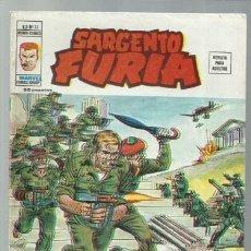 Cómics: SARGENTO FURIA VOLUMEN 2 NÚMERO 22, 1976, VERTICE, BUEN ESTADO. COLECCIÓN A.T.. Lote 199515803
