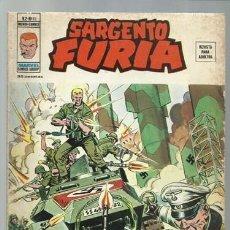 Cómics: SARGENTO FURIA VOLUMEN 2 NÚMERO 19, 1976, VERTICE, USADO. COLECCIÓN A.T.. Lote 199516282