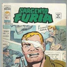 Cómics: SARGENTO FURIA VOLUMEN 2 NÚMERO 18, 1976, VERTICE, BUEN ESTADO. COLECCIÓN A.T.. Lote 199516456