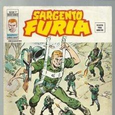 Cómics: SARGENTO FURIA VOLUMEN 2 NÚMERO 17, 1975, VERTICE, MUY BUEN ESTADO. COLECCIÓN A.T.. Lote 199516568