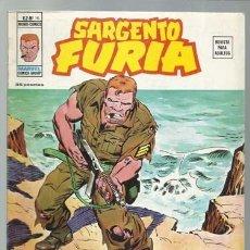 Cómics: SARGENTO FURIA VOLUMEN 2 NÚMERO 16, 1975, VERTICE, MUY BUEN ESTADO. COLECCIÓN A.T.. Lote 199516703