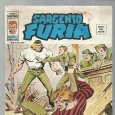 Comics : SARGENTO FURIA VOLUMEN 2 NÚMERO 15, 1975, VERTICE, USADO. COLECCIÓN A.T.. Lote 199516835