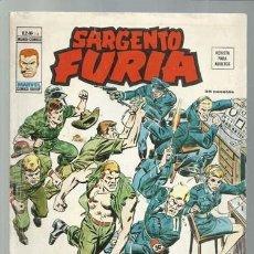 Cómics: SARGENTO FURIA VOLUMEN 2 NÚMERO 14, 1975, VERTICE. COLECCIÓN A.T.. Lote 199517018