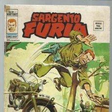 Comics : SARGENTO FURIA VOLUMEN 2 NÚMERO 12, 1975, VERTICE, USADO. COLECCIÓN A.T.. Lote 199517323