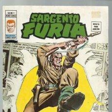 Comics : SARGENTO FURIA VOLUMEN 2 NÚMERO 11, 1975, VERTICE, MUY BUEN ESTADO. COLECCIÓN A.T.. Lote 199517458
