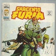 Comics : SARGENTO FURIA VOLUMEN 2 NÚMERO 10, 1975, VERTICE. COLECCIÓN A.T.. Lote 199517621