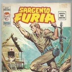 Cómics: SARGENTO FURIA VOLUMEN 2 NÚMERO 8, 1975, VERTICE, MUY BUEN ESTADO. COLECCIÓN A.T.. Lote 199517877