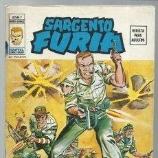 Comics : SARGENTO FURIA VOLUMEN 2 NÚMERO 7, 1975, VERTICE, BUEN ESTADO. COLECCIÓN A.T.. Lote 199518023