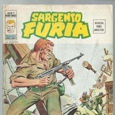 Cómics: SARGENTO FURIA VOLUMEN 2 NÚMERO 6, 1974, VERTICE. COLECCIÓN A.T.. Lote 199518201