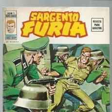 Cómics: SARGENTO FURIA VOLUMEN 2 NÚMERO 5, 1974, VERTICE, MUY BUEN ESTADO. COLECCIÓN A.T.. Lote 199518352