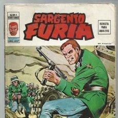 Cómics: SARGENTO FURIA VOLUMEN 2 NÚMERO 4, 1974, VERTICE. COLECCIÓN A.T.. Lote 199518428