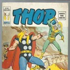 Fumetti: THOR VOLUMEN 2 3, 1974, VERTICE, MUY BUEN ESTADO. COLECCIÓN A.T.. Lote 199668143