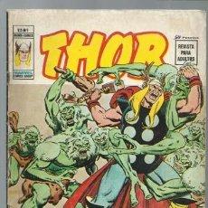 Cómics: THOR VOLUMEN 2 NÚMERO 1, 1974, VERTICE. COLECCIÓN A.T.. Lote 199668468