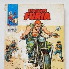 Cómics: VERTICE VOL.1 SARGENTO FURIA Nº 24 - TE Y SABOTAJE - EDICION ESPECIAL 128 PAGINAS - TACO MARVEL. Lote 199739223