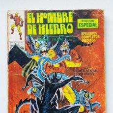 Comics : VERTICE V.1 EL HOMBRE DE HIERRO Nº 20 - EL GEMIDO DEL DEMONIO - EDICION ESPECIAL 128 PAGINAS COMIC. Lote 199742486