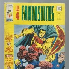 Fumetti: LOS 4 FANTÁSTICOS VOLUMEN 3 NÚMERO 6, 1977, VERTICE. COLECCIÓN A.T.. Lote 199795272