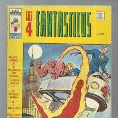 Comics : LOS 4FANTÁSTICOS VOLUMEN 3 NÚMERO 2, 1977, VERTICE, BUEN ESTADO. COLECCIÓN A.T.. Lote 199795982