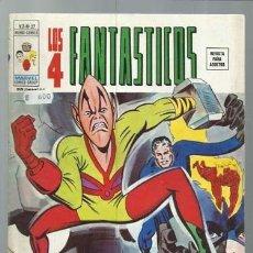 Fumetti: LOS 4 FANTÁSTICOS VOLUMEN 2 NÚMERO 27, 1976, VERTICE, BUEN ESTADO. COLECCIÓN A.T.. Lote 199796492