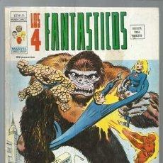 Fumetti: LOS 4 FANTÁSTICOS VOLUMEN 2 NÚMERO 25, 1976, VERTICE, BUEN ESTADO. COLECCIÓN A.T.. Lote 199796801