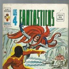 Fumetti: LOS 4 FANTÁSTICOS VOLUMEN 2 NÚMERO 6, 1974, VERTICE. COLECCIÓN A.T.. Lote 199799227