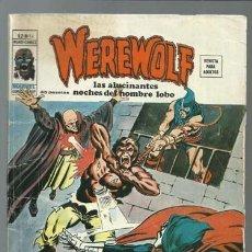 Comics: WEREWOLF VOLUMEN 2 NÚMERO 14, 1976, VERTICE. COLECCIÓN A.T.. Lote 199804758