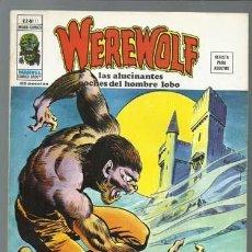 Cómics: WEREWOLF VOLUMEN 2 NÚMERO 11, 1975, VERTICE, MUY BUEN ESTADO. COLECCIÓN A.T.. Lote 199805386