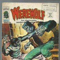 Cómics: WEREWOLF VOLUMEN 2 NÚMERO 10, 1975, VERTICE. COLECCIÓN A.T.. Lote 199805922