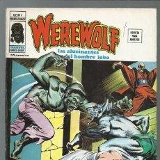 Cómics: WEREWOLF VOLUMEN 2 NÚMERO 7, 1975, VERTICE, BUEN ESTADO. COLECCIÓN A.T.. Lote 199806677