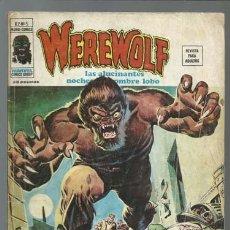 Comics: WEREWOLF VOLUMEN 2 NÚMERO 5, 1975, VERTICE, USADO. COLECCIÓN A.T.. Lote 199807220