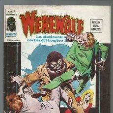 Cómics: WEREWOLF VOLUMEN 2 NÚMERO 4, 1975, VERTICE. COLECCIÓN A.T.. Lote 199807496