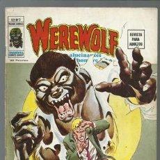 Cómics: WEREWOLF VOLUMEN 2 NÚMERO 2, 1975, VERTICE, BUEN ESTADO. COLECCIÓN A.T.. Lote 199808176