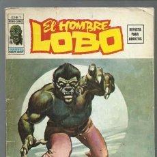 Cómics: EL HOMBRE LOBO VOLUMEN 2 NÚMERO 1, 1974, VERTICE. COLECCIÓN A.T.. Lote 199808575