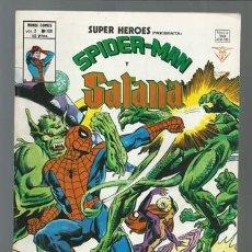 Cómics: SUPER HÉROES VOLUMEN 2, 8: SPIDERMAN Y SATANA, 1978, VERTICE, MUY BUEN ESTADO. COLECCIÓN A.T.. Lote 199814628