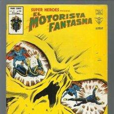 Cómics: SUPER HÉROES VOLUMEN 2, 106: MOTORISTA FANTASMA, 1976, VERTICE, MUY BUEN ESTADO. COLECCIÓN A.T.. Lote 199815078
