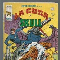 Cómics: SUPER HÉROES VOLUMEN 2, 100: LA COSA Y SKULL, 1978, VERTICE. COLECCIÓN A.T.. Lote 199815922