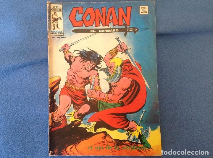 VOLUMEN DOS NUMERO 24 (Tebeos y Comics - Vértice - Conan)