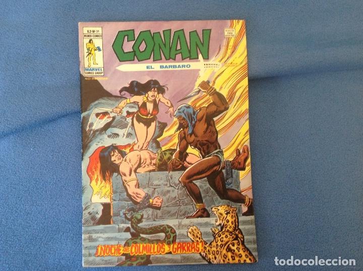 CONAN VERTICE VOLUMEN DOS NUMERO 31 (Tebeos y Comics - Vértice - Conan)
