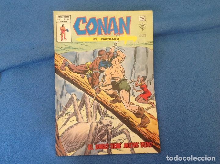 VOLUMEN DOS NUMERO 34 (Tebeos y Comics - Vértice - Conan)