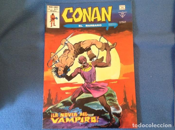 VOLUMEN DOS NUMERO 35 (Tebeos y Comics - Vértice - Conan)