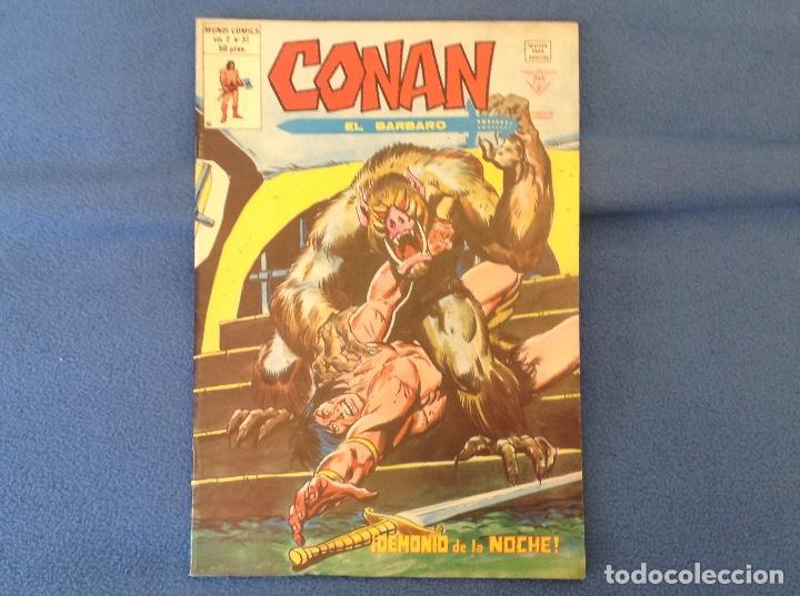 VOLUMEN DOS NUMERO 37 (Tebeos y Comics - Vértice - Conan)